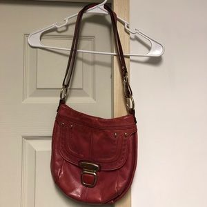 B. Makowsky Red Crossbody Purse